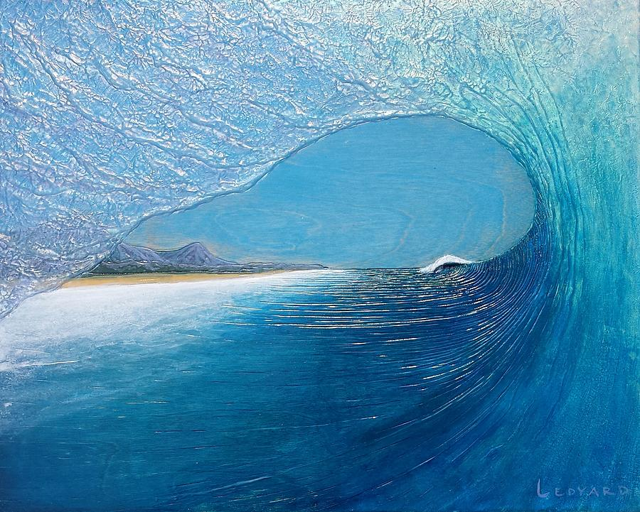 Ocean Painting - Blue Room by Nathan Ledyard