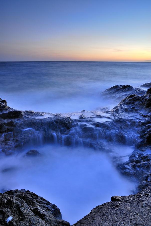 Seascape Photograph - Blue Seaside by Guido Montanes Castillo