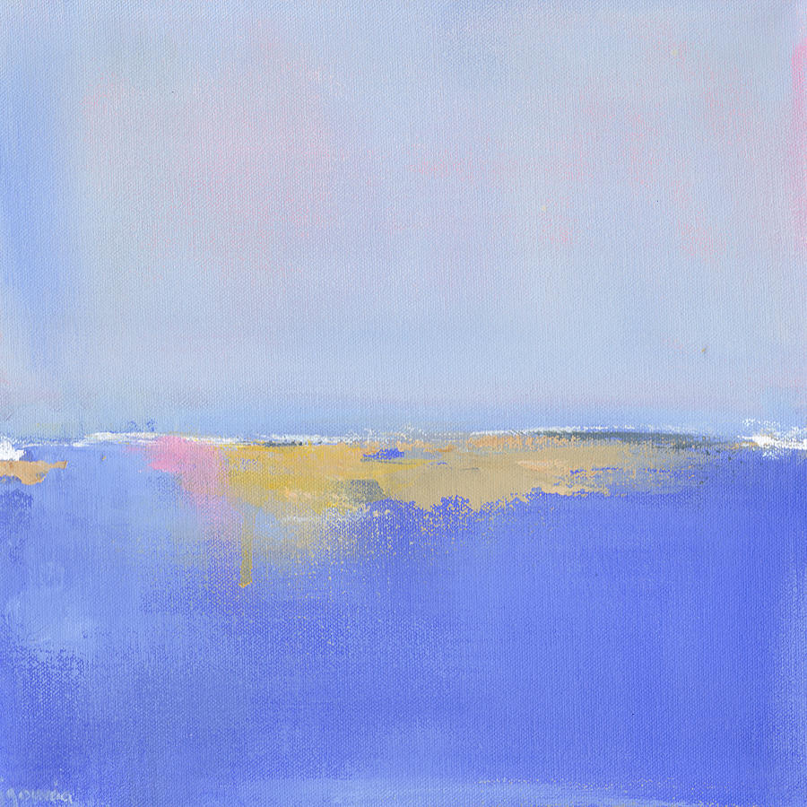 New England Painting - Blue Silences by Jacquie Gouveia