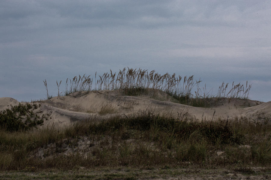 Sand Dunes Photograph - Blue Skies At The Dunes by Anita Miller