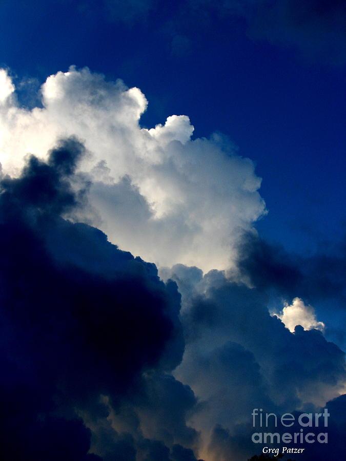 Patzer Photograph - Blue Skies by Greg Patzer