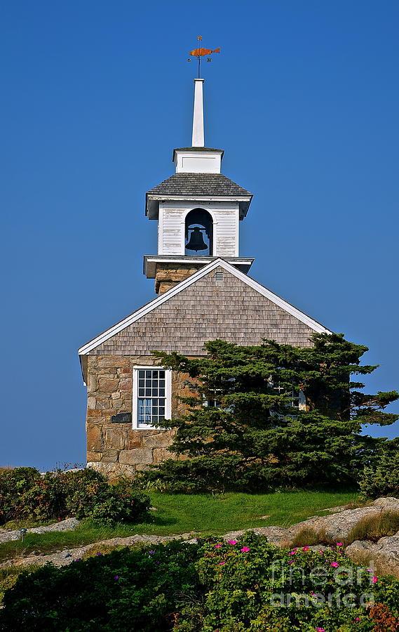 Blue Sky Chapel Photograph