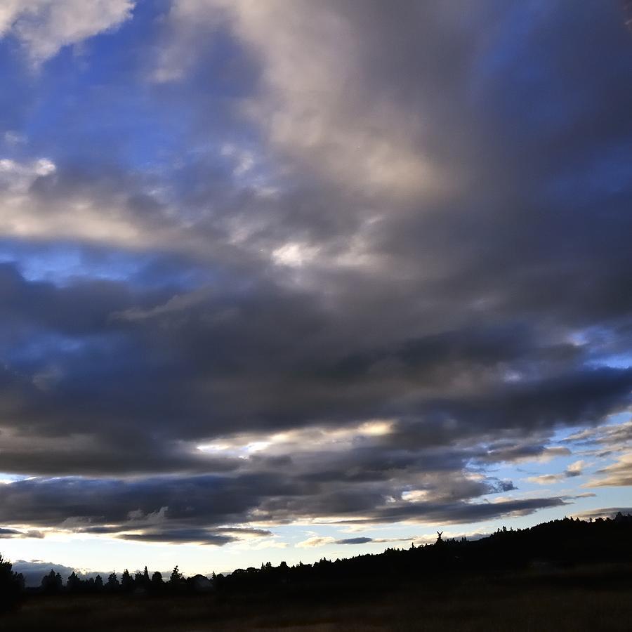 Blue Sky Sunset 25233 Photograph