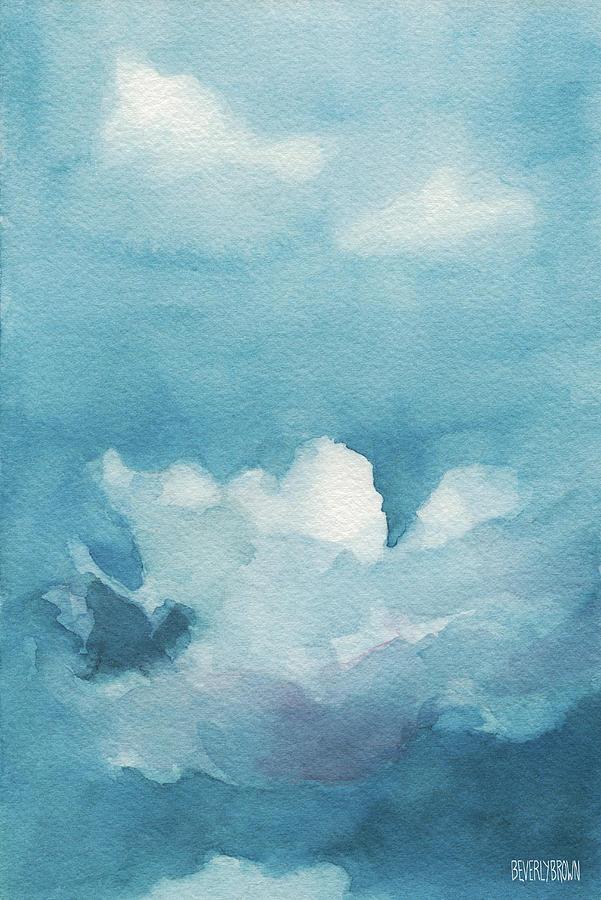 Blue Skies Landscape Painting