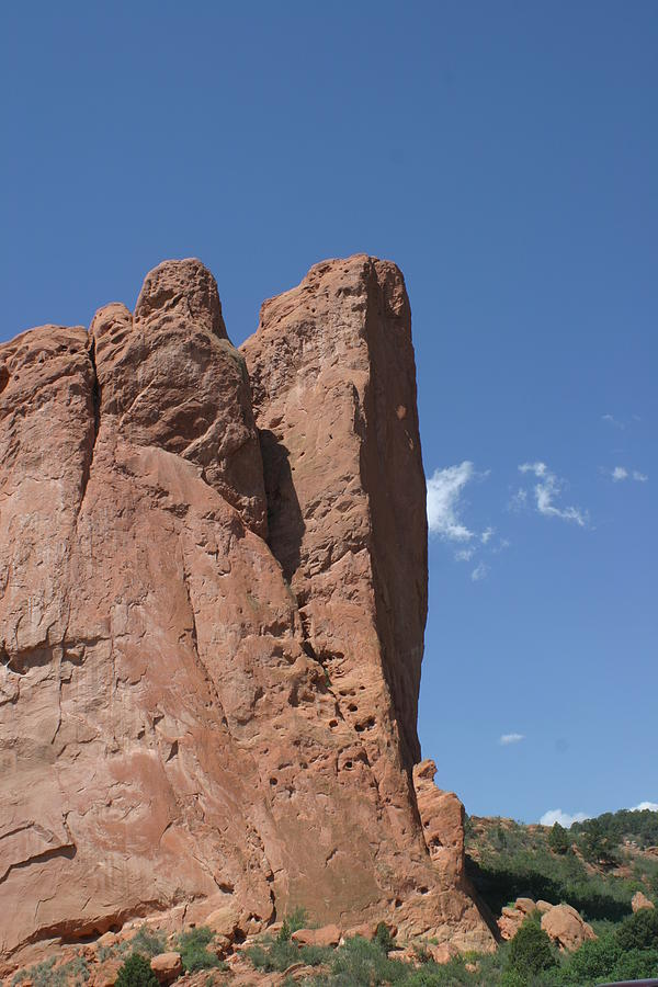 Blue Sky...red Rock Photograph