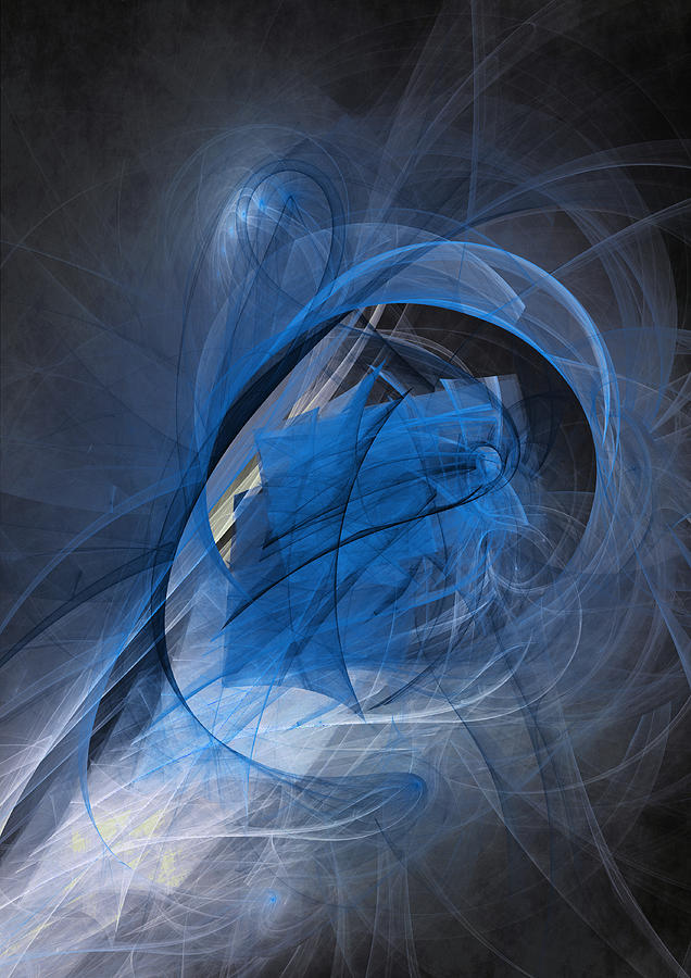 Blue Soul Digital Art