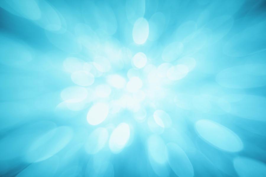 Blue Sparkles Photograph by Krystiannawrocki