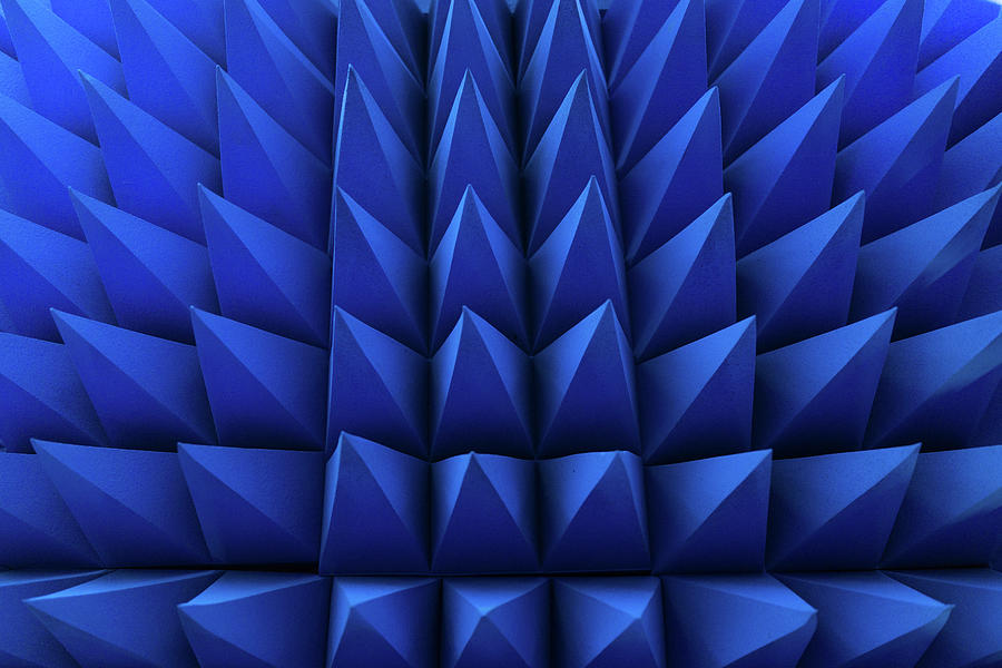 Blue Spikes Pattern Photograph by Liyao Xie