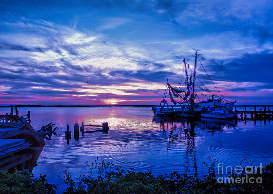 Blue Sunset by Dave Bosse