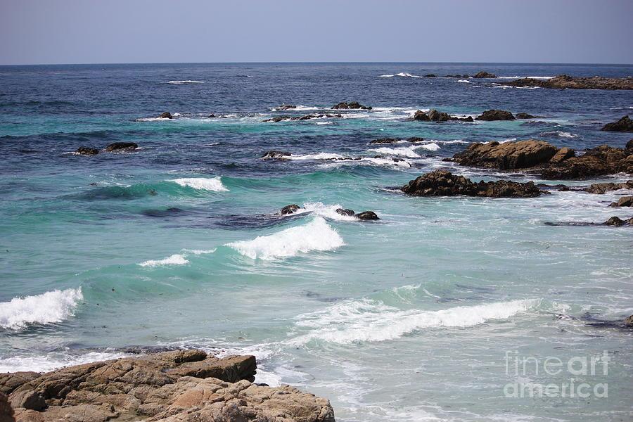 Water Photograph - Blue Surf by Carol Groenen
