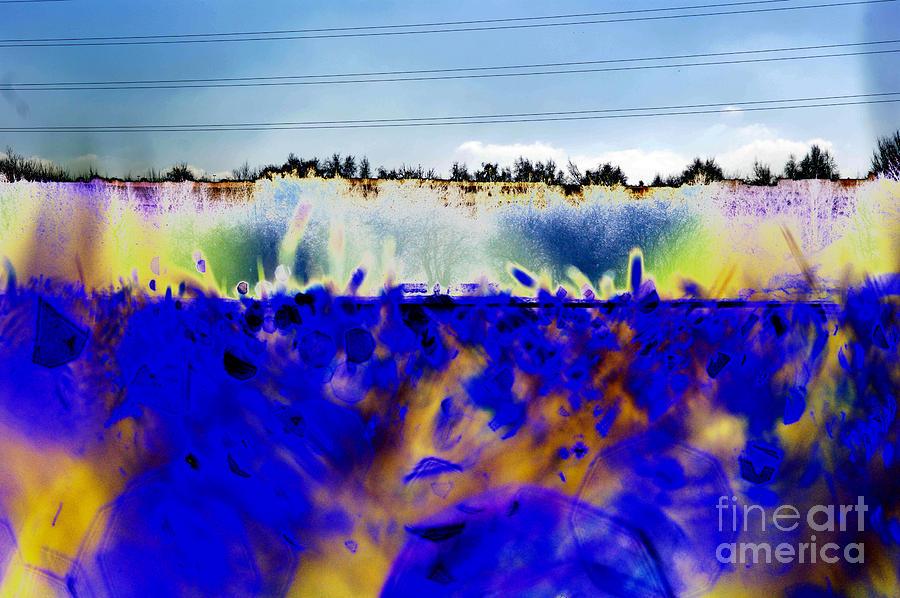 Blue Digital Art - Blue Things by Carol Lynch