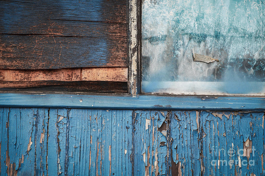 Blue Photograph - Blue Turns To Grey by Dean Harte