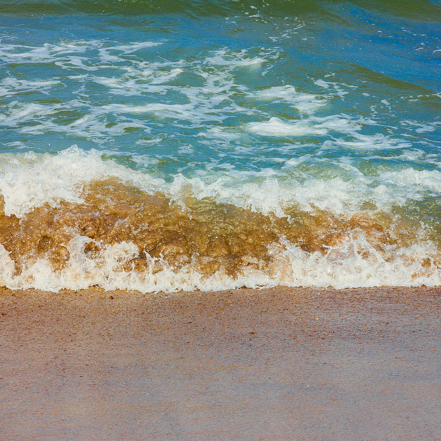 Wave Photograph - Blue Wave by Pati Photography