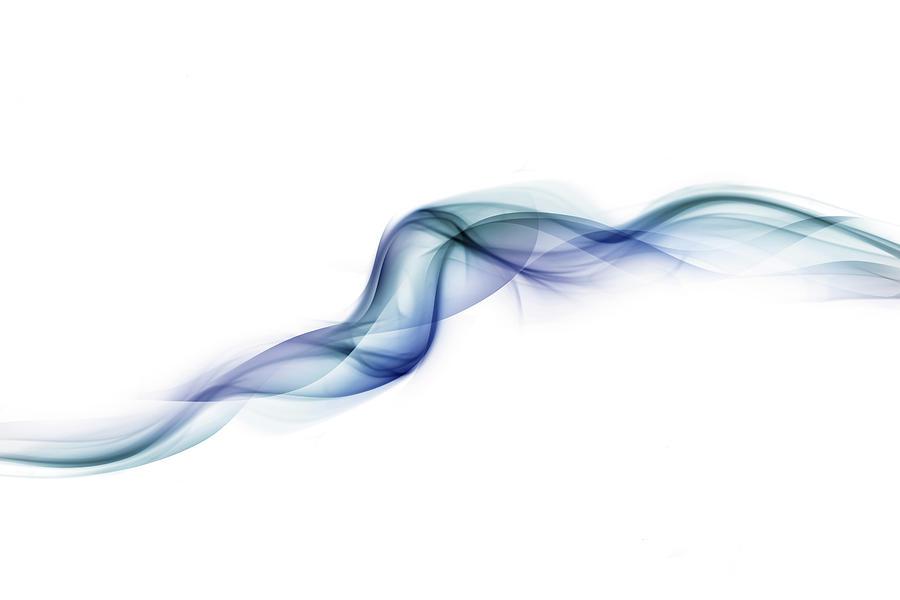 Blue Whisps Of Smoke Photograph by Anthony Bradshaw