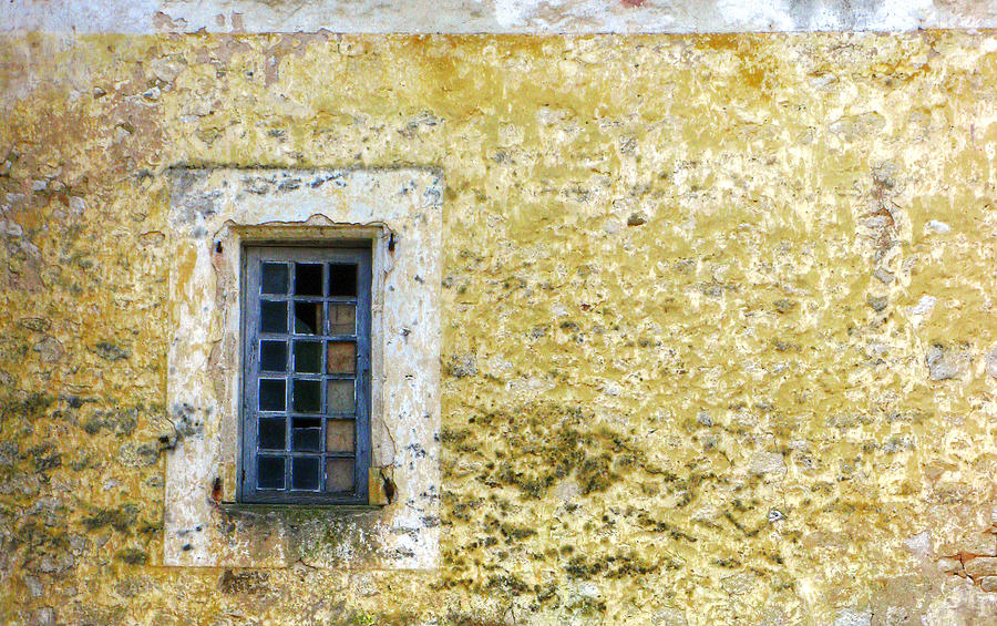Window Photograph - Blue Window by Douglas J Fisher