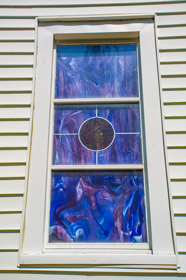 Blue Window Photograph