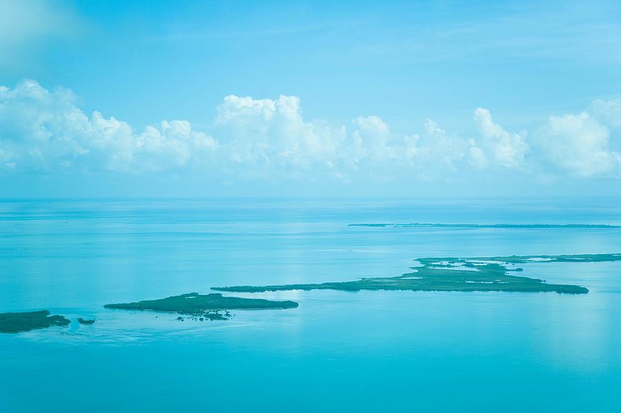Belize Photograph - Blue Serenity by Zina Zinchik