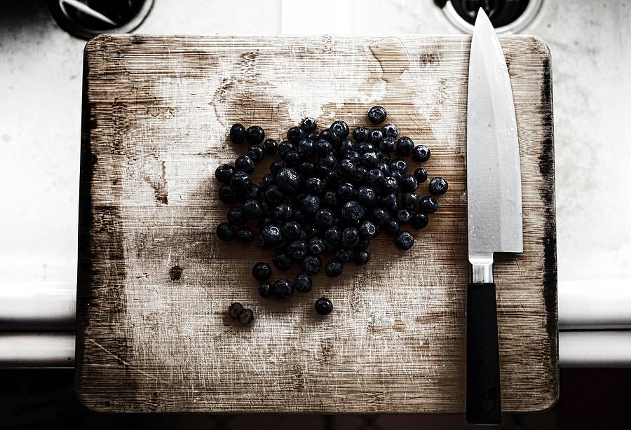 Blueberry Murder Photograph by Alex Leon-afterlightfoto