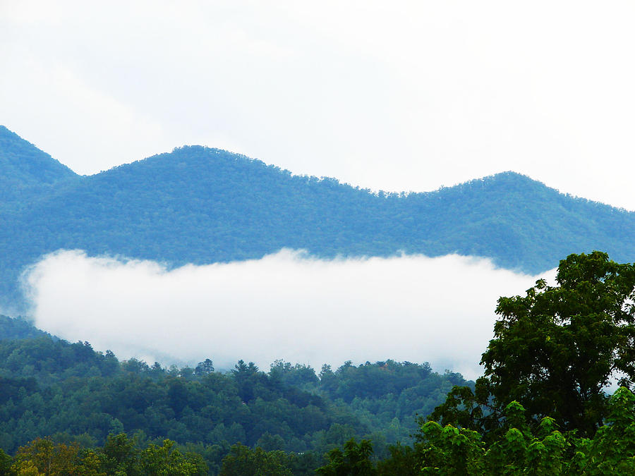 Blueridge Photograph - Blueridge Mountain Splendor by Ella Char