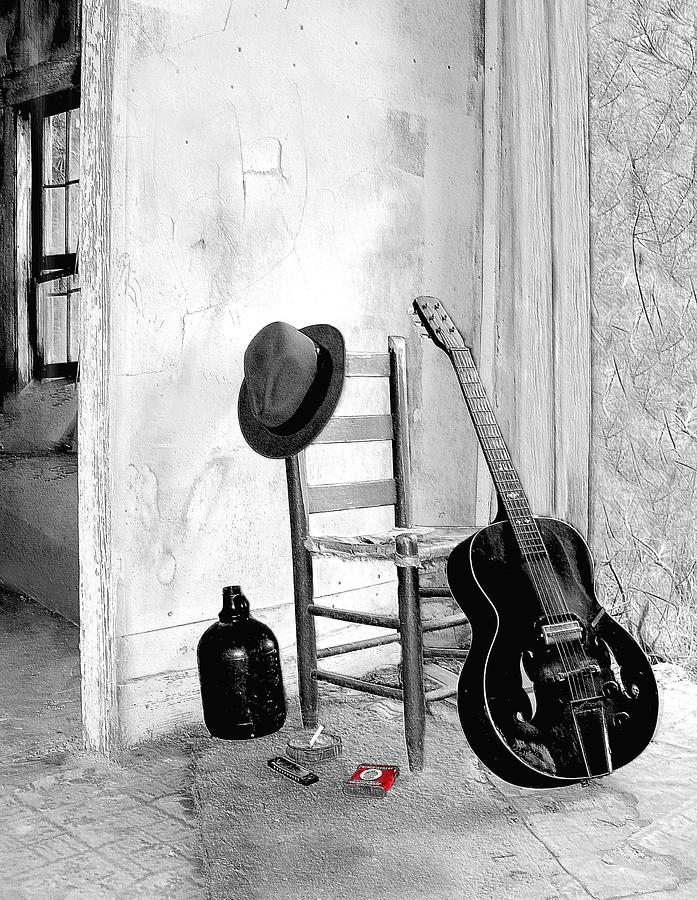 Guitar Photograph - Blues by EG Kight