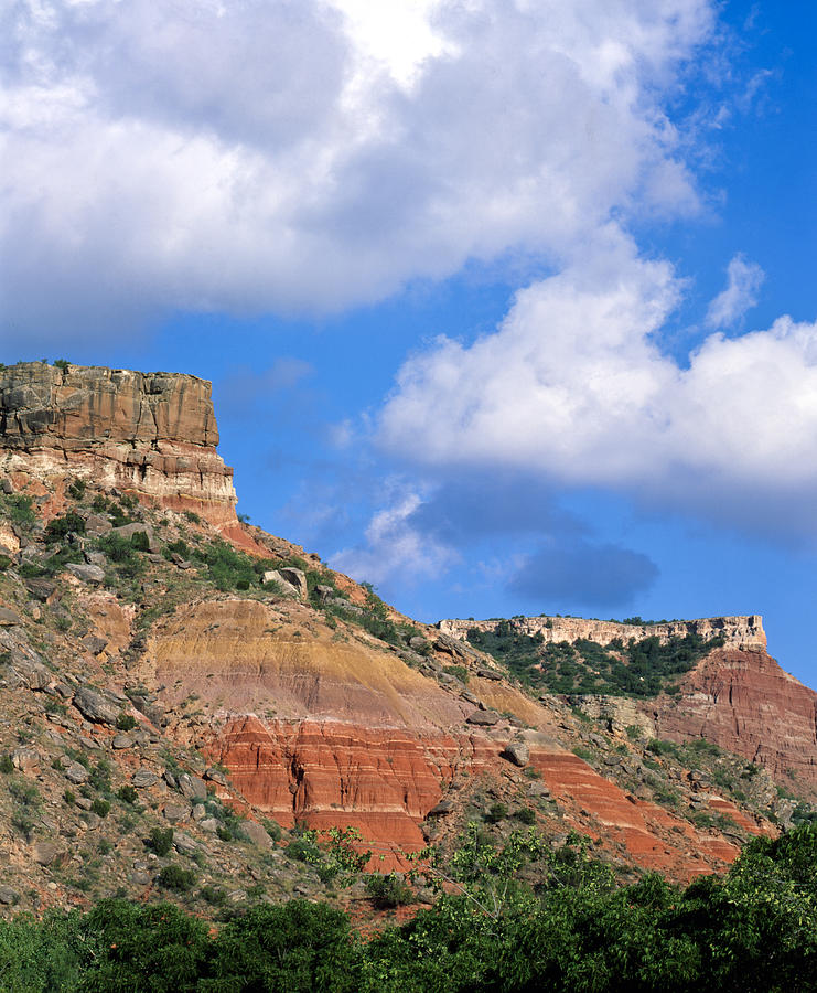 Cowboy Photograph - Bluffs in the Glass Mountains by Richard Smith