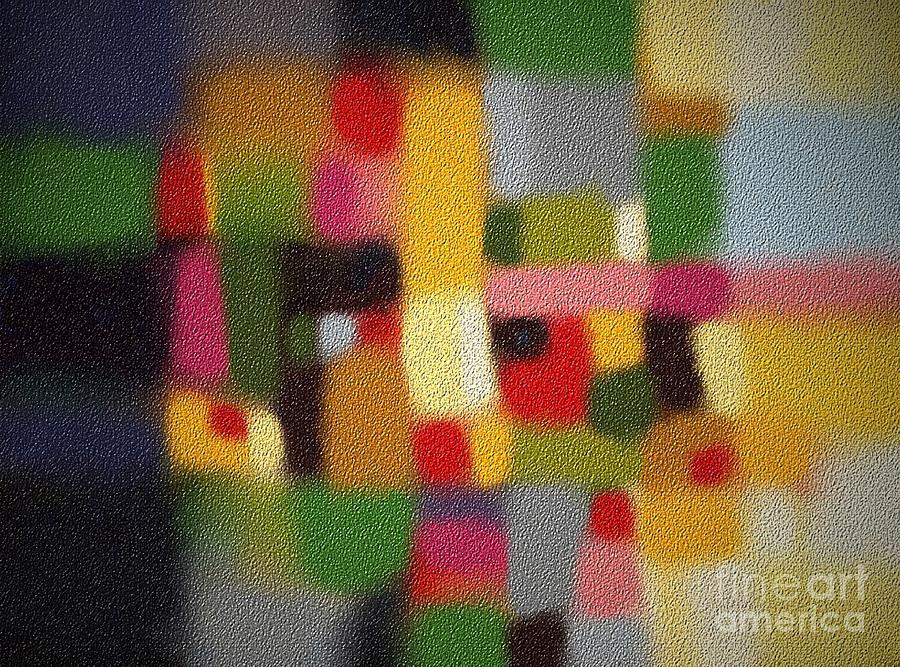 Abstract Digital Art - Blur by Igor Schortz
