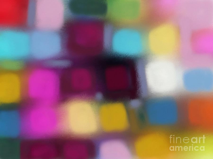 Abstract Digital Art - Blur II by Igor Schortz