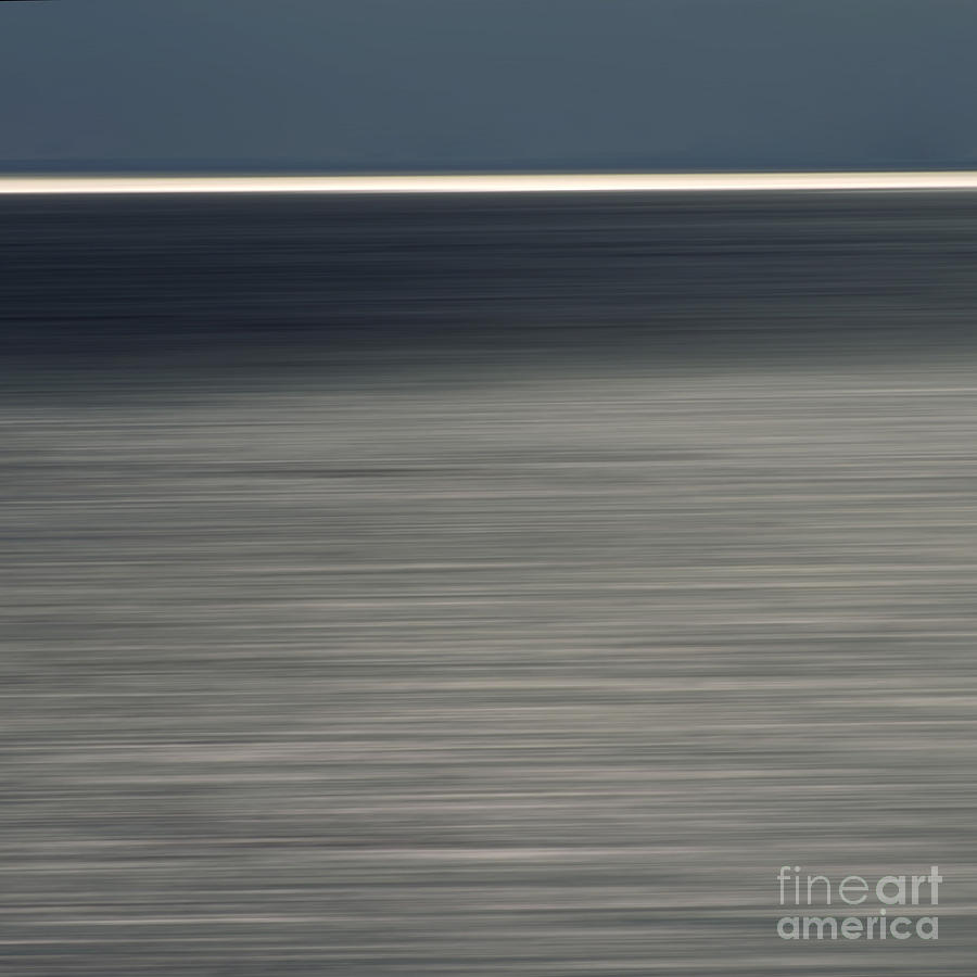 Outdoors Photograph - Blurred Sea by Bernard Jaubert