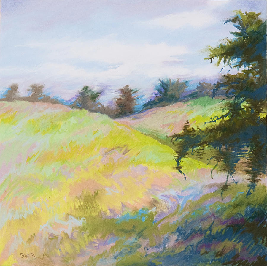 Windy Pastel - Blustery by Bruce Richardson