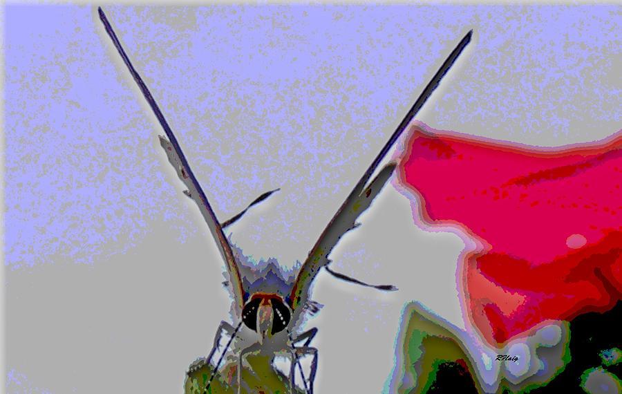 Windy Digital Art - Blustery Day by Rebecca Flaig