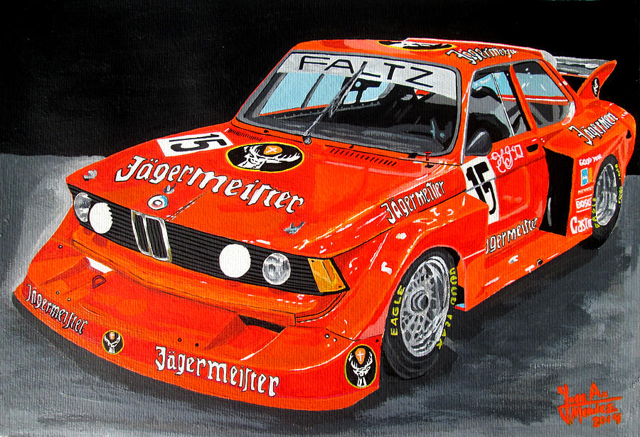 Bmw Painting - Bmw 320 by Jose Mendez