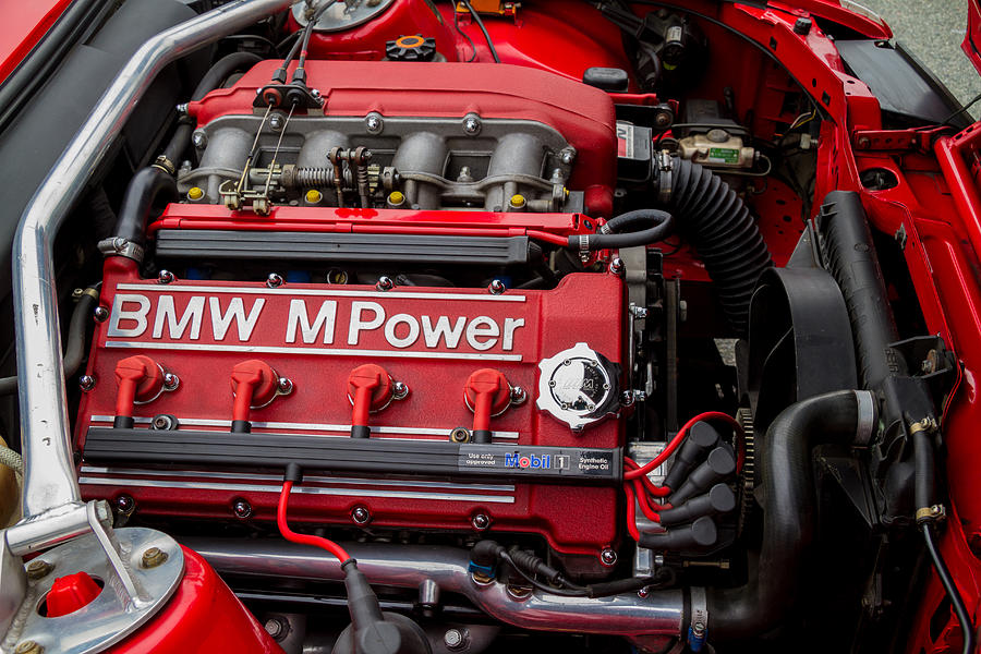 BMW M Power Engine Photograph by Roger Mullenhour