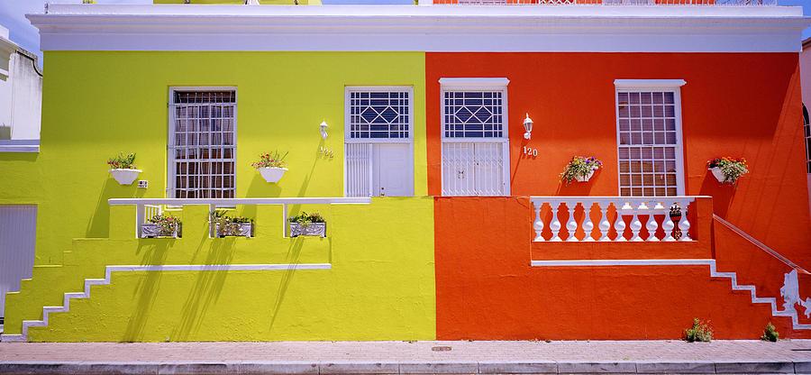 Bo Kaap Photograph - Bo Kaap House by Shaun Higson