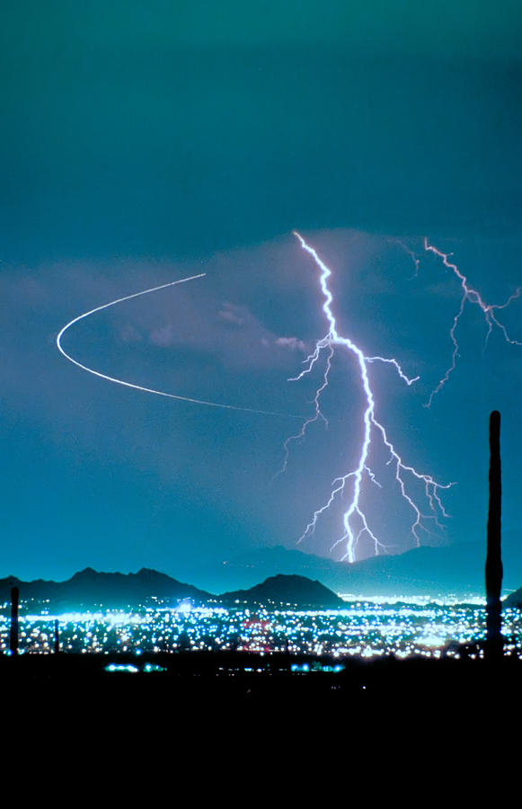 Lightning Photograph - Bo Trek The Lightning Man by James BO  Insogna