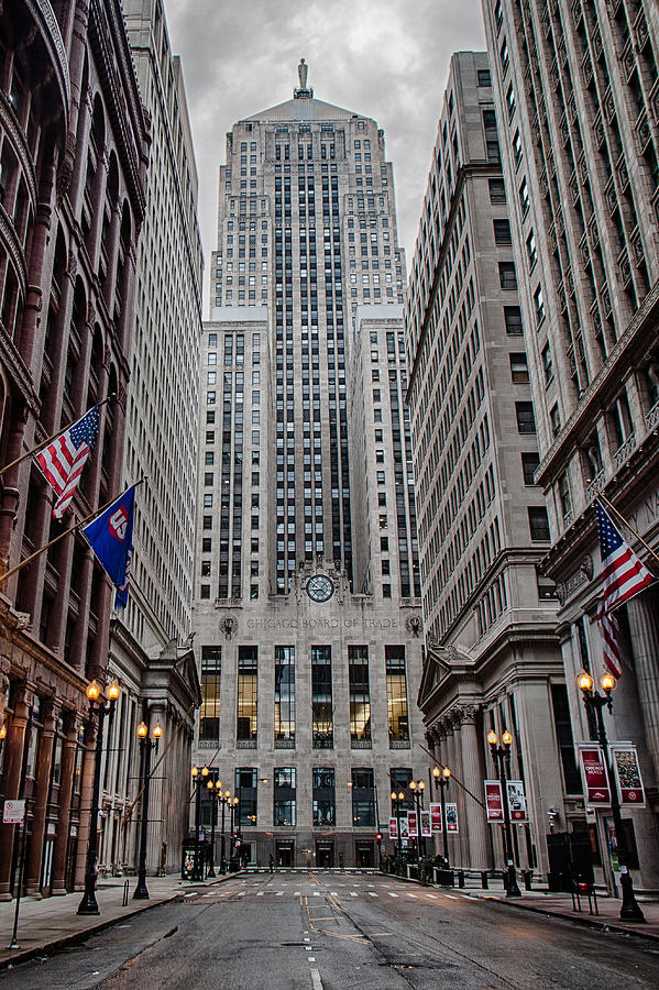 Chicago Photograph - Board Of Trade by Mike Burgquist