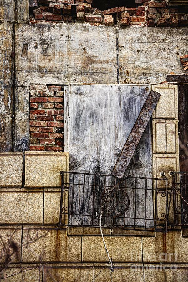 Window Photograph - Boards by Margie Hurwich