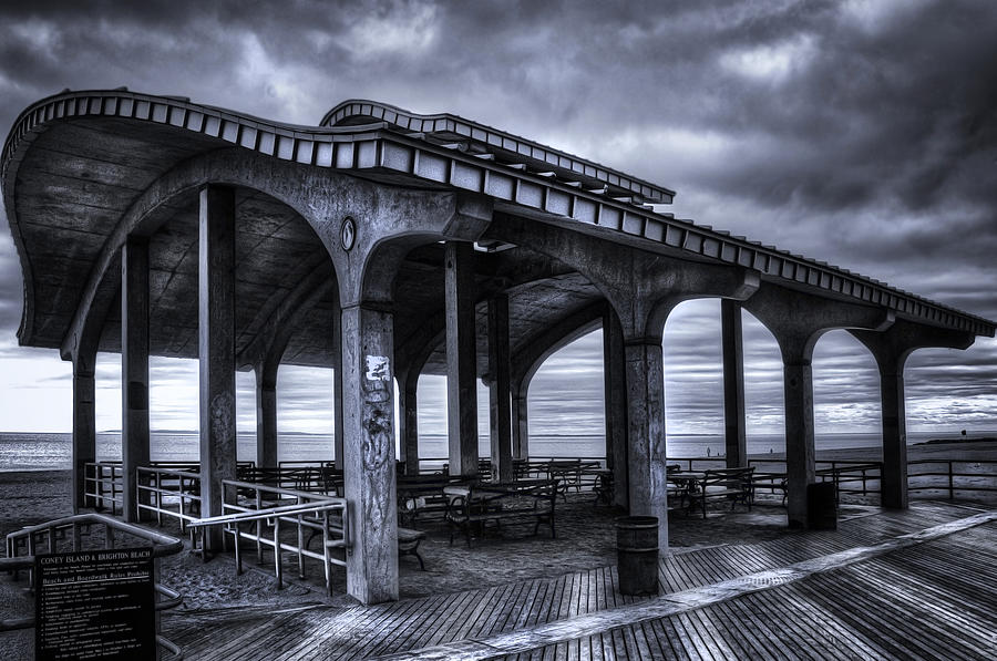 America Photograph - Boardwalk Brooklyn08 by Svetlana Sewell