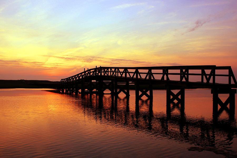 Cape Cod Photograph - Boardwalk To Heaven 2 by Matthew Grice