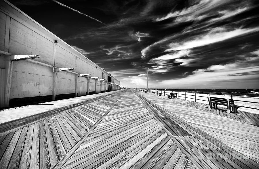 Boardwalk Photograph - Boardwalk Walk by John Rizzuto