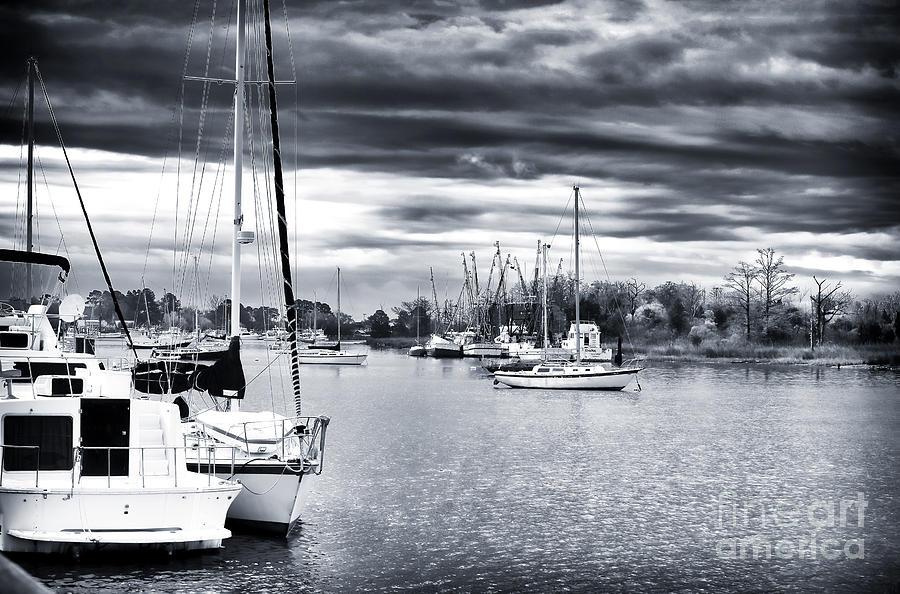 Boat Photograph - Boat Blues by John Rizzuto