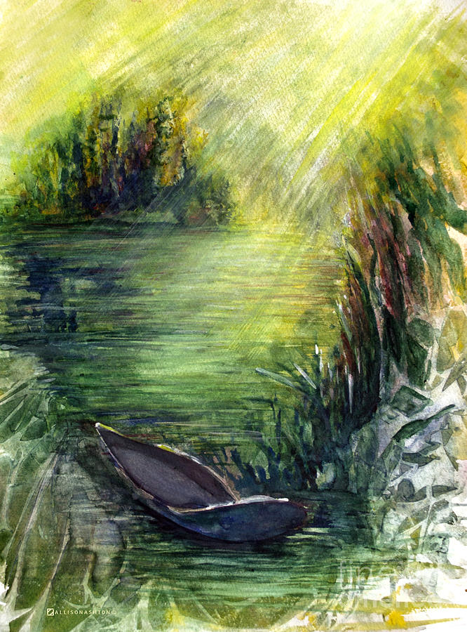 Boat Dock Painting