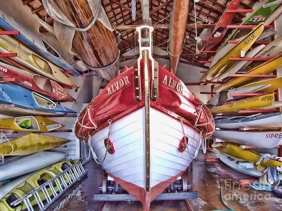 Boats Photograph - Boat Frenzy by Pauline Flesseman