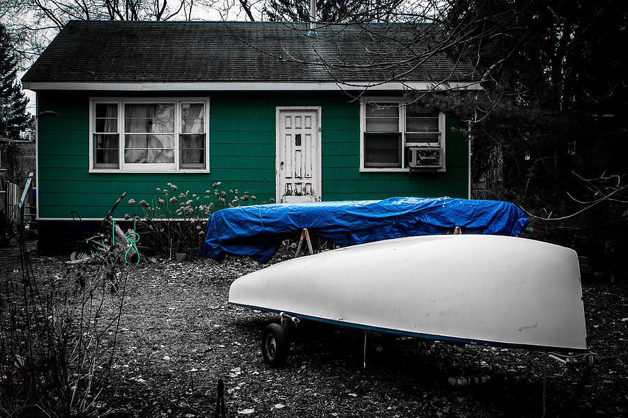 Boat House Photograph by Milan Kalkan