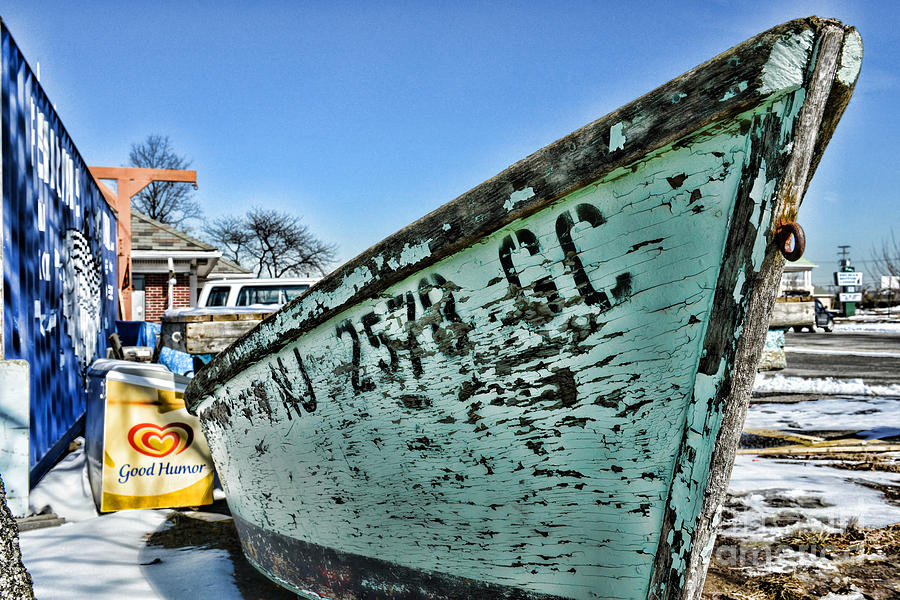 Paul Ward Photograph - Boat - In A State Of Decay by Paul Ward