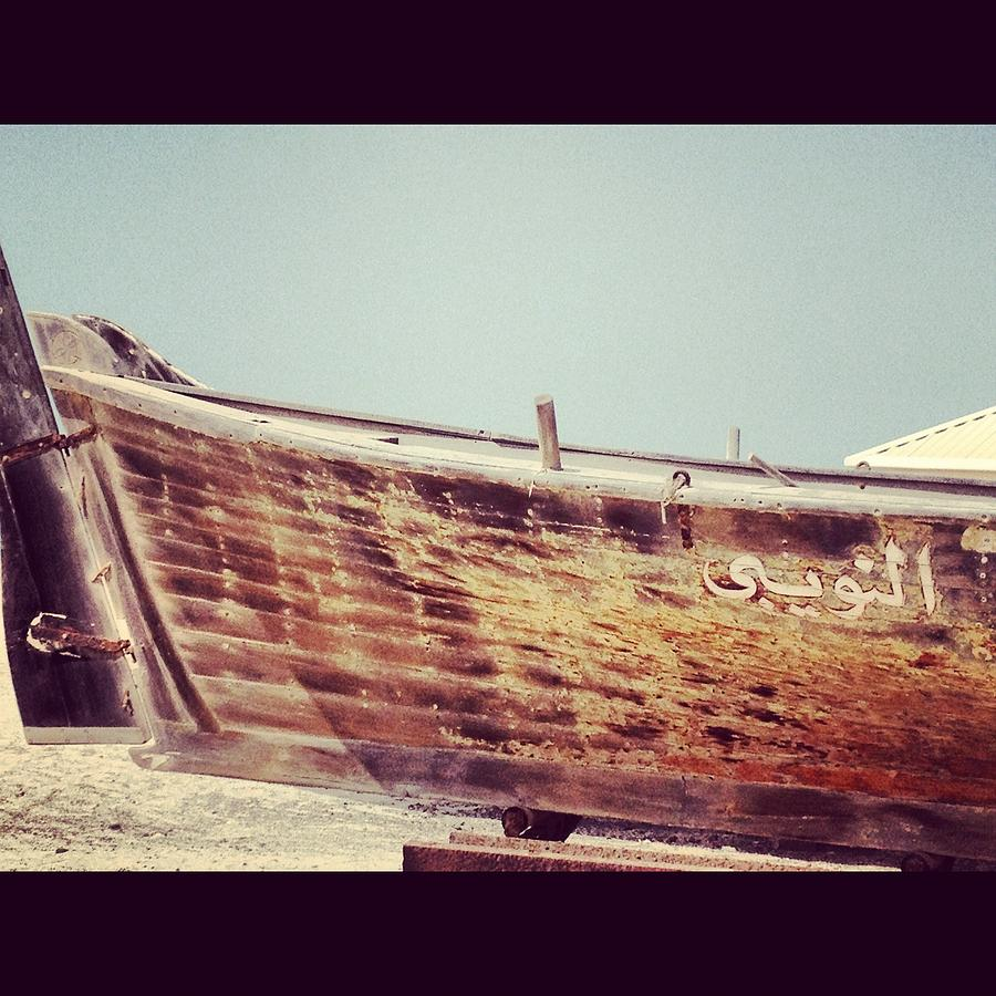 Digital Photograph Photograph - Boat by Maeve O Connell