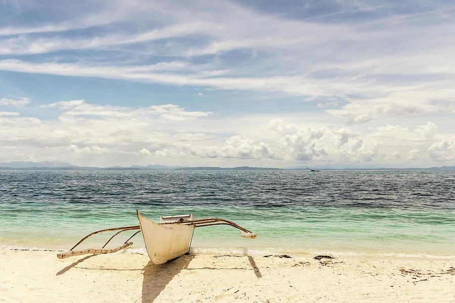 Boat, Malapasqua, Philippines Photograph by John Harper
