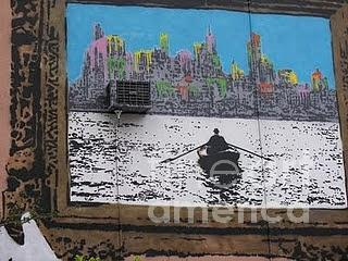 Wall Mural Photograph - Boat Out Of New York by James Dolan