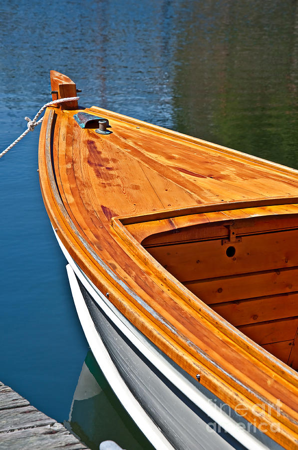 Boat stern tied to dock photograph by valerie garner - Valerie garnering ...