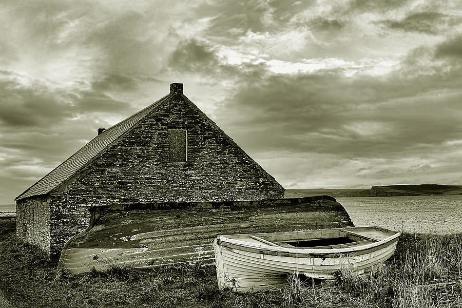 Boathouse Photograph - Boathouse by Chris Cardwell