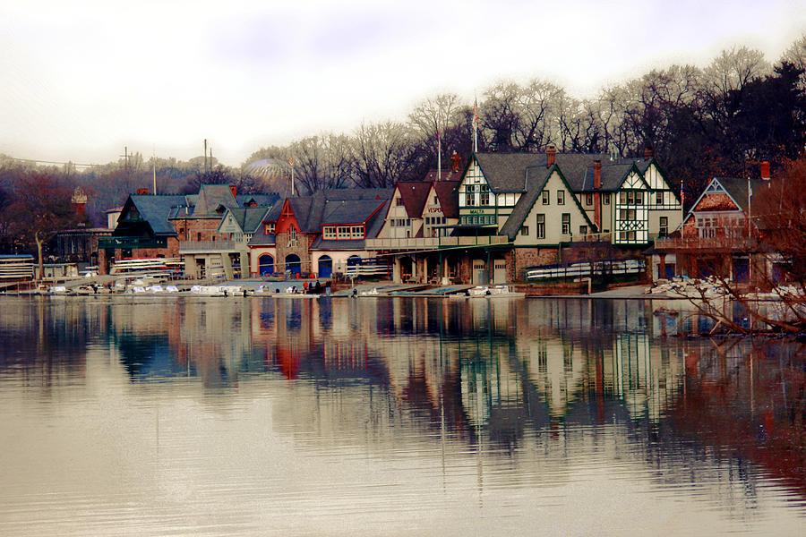 BoatHouse Row Philadelphia by Tom Gari Gallery-Three-Photography